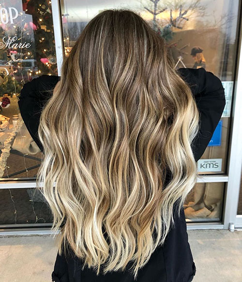 Long And Wavy Hairstyles