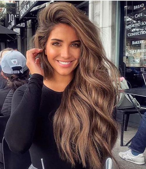 Long Wavy Hair