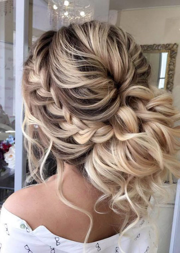 Updo Hairstyle Images For Long Hair