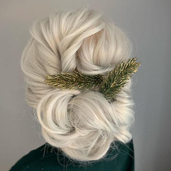 Updo Hair For Long Hair
