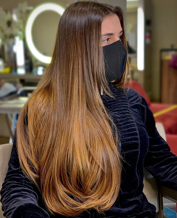 20 Perfect Long Straight Hairstyles For Everyday Style The Best Long Hairstyle And Haircut Ideas