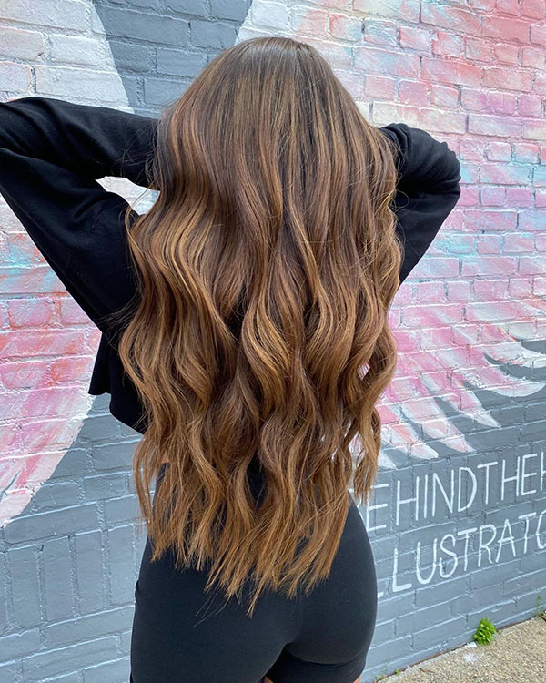 Long Hairstyles For Brown Hair
