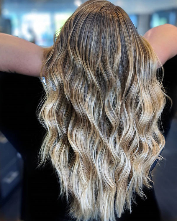 Balayage Hair For Long Hair