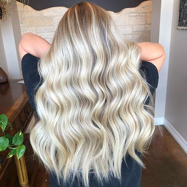 Super Long Blonde Hair