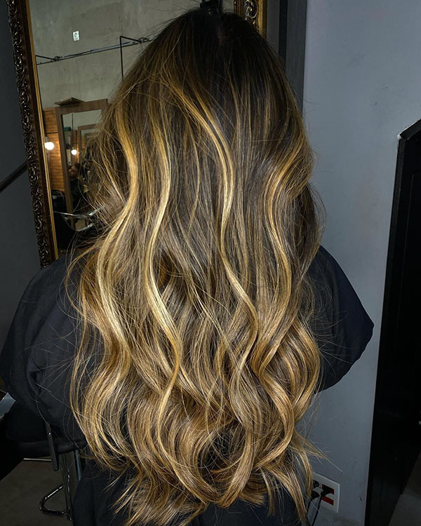 Ombre Hair For Long Hair