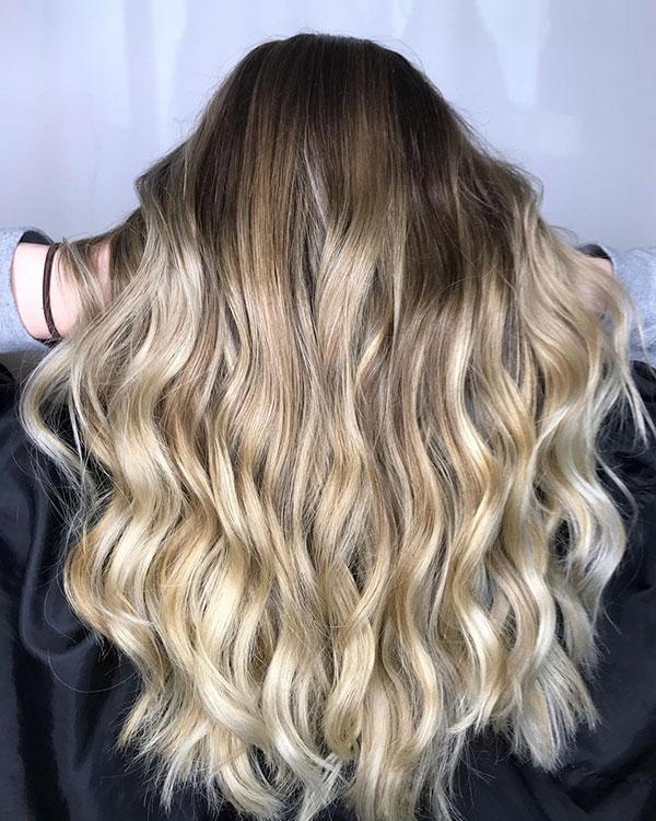 Long Hair And Balayage