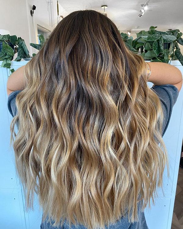 Balayage For Long Hair
