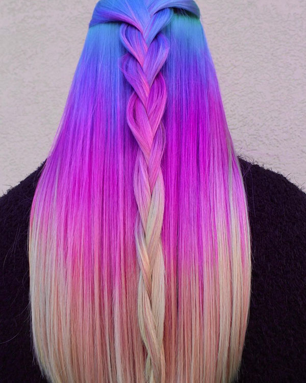 Beautiful Long Mermaid Hair
