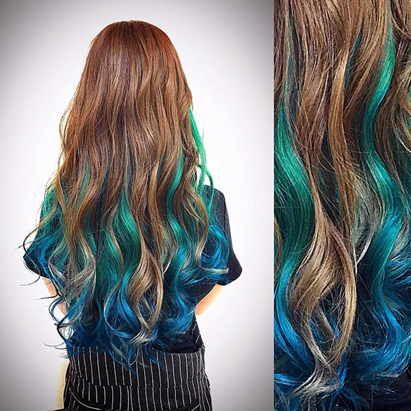 Long Mermaid Hair