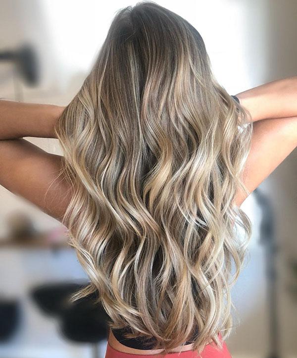 Long Thin Hair