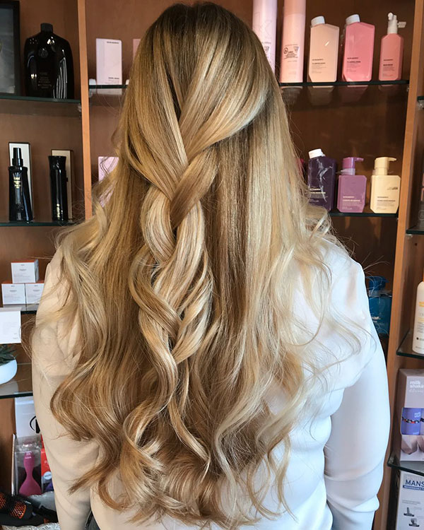 Long Half Up Hairstyles For Women