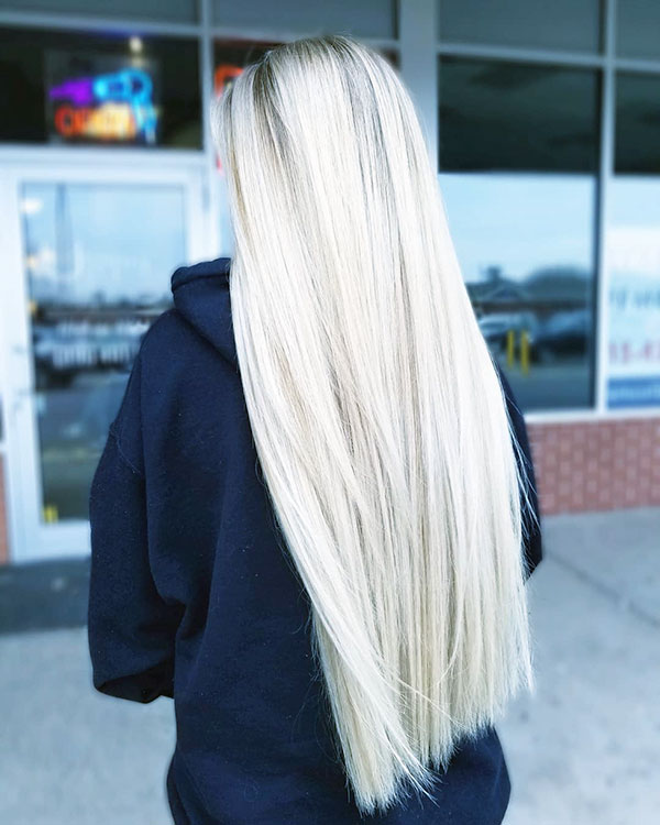 Long Straight Hairstyles 2021