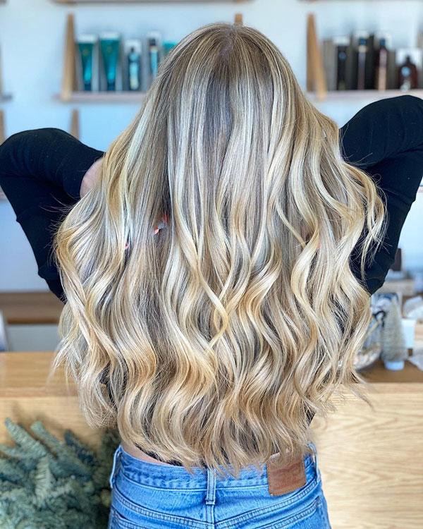 Long Blonde Hair Pics