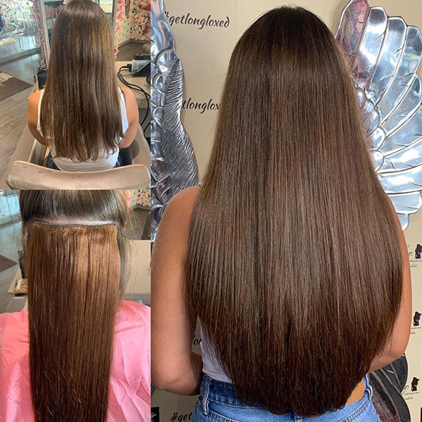 Long Brown Hairstyles 2021