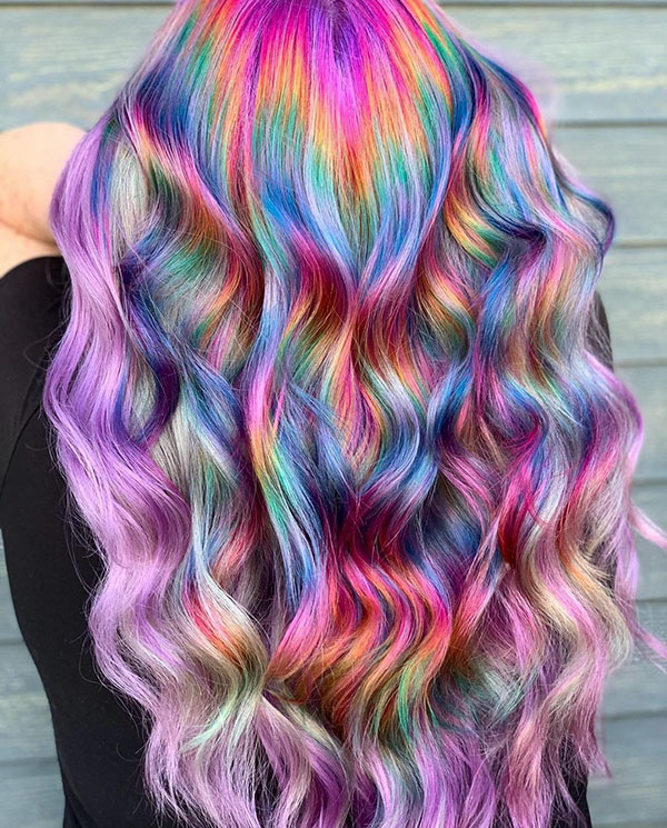 Long Mermaid Hairstyles 2021