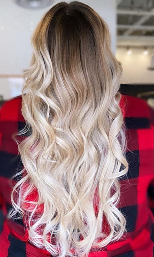 Long And Thin Hair