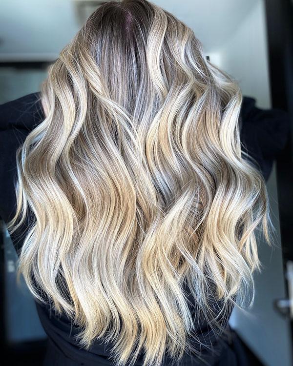Long Blonde Hairstyles 2021