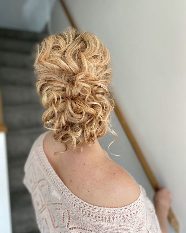 Long Bridesmaid Hairstyles