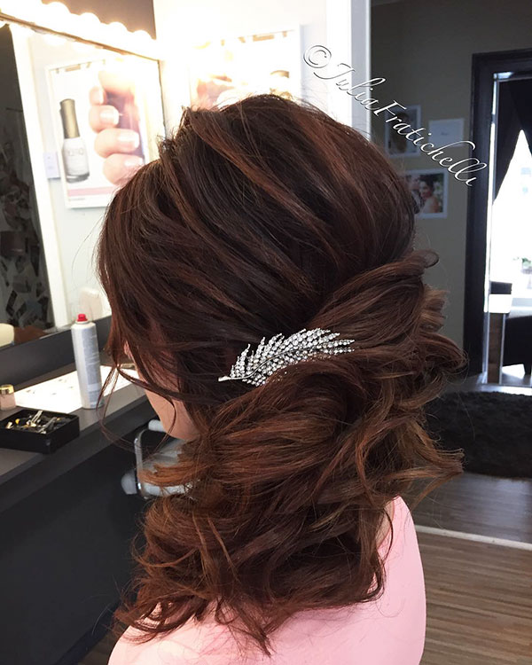 Long Bridesmaid Hairstyles 2021