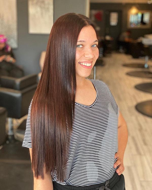 Long Brown Hairstyles 2021