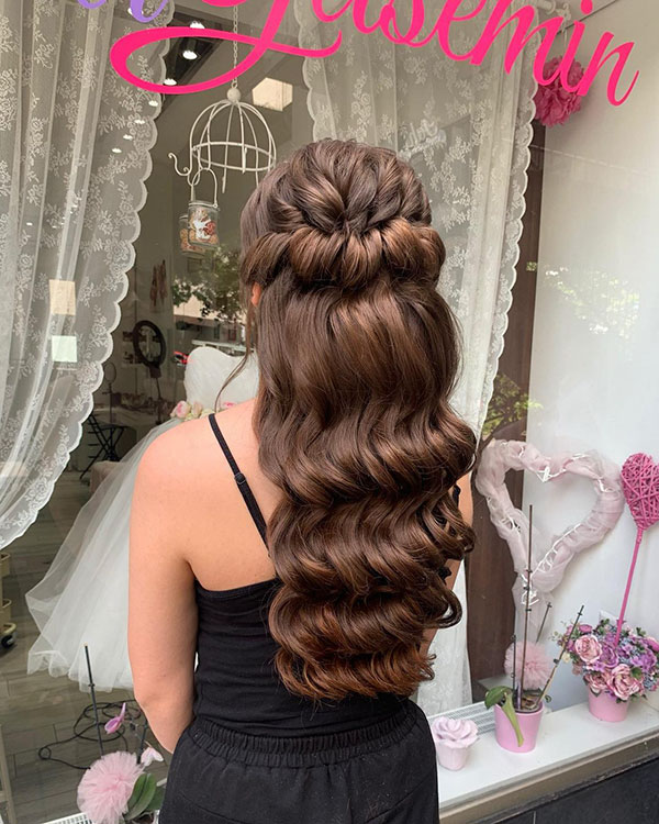 Bridesmaid Hairstyle Pictures For Long Hair