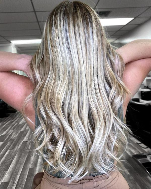 Best Long Blonde Hairstyles
