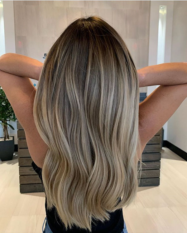 Balayage Hair Ideas For Long Hair