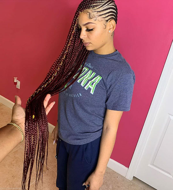 Long Braids For Black Women 2021