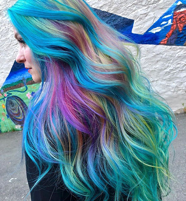Hairstyles For Long Mermaid Hair
