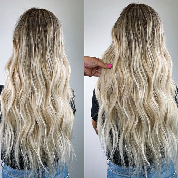 Beautiful Long Blonde Hair