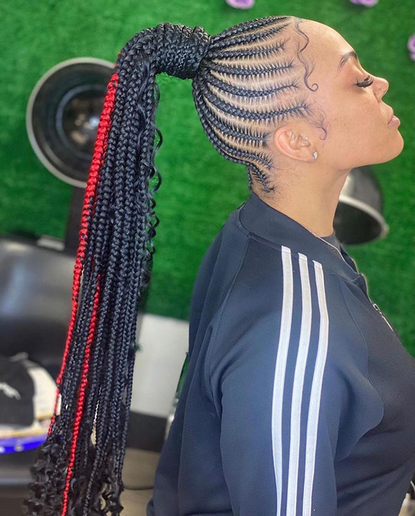 Long Braided Styles For Black Women
