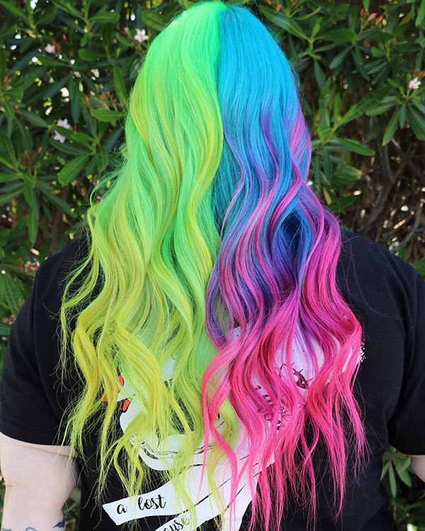 Long Mermaid Hairstyles