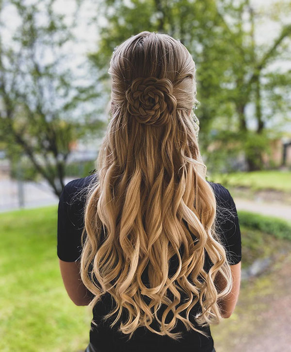 Best Half Up Hairstyles For Long Hair